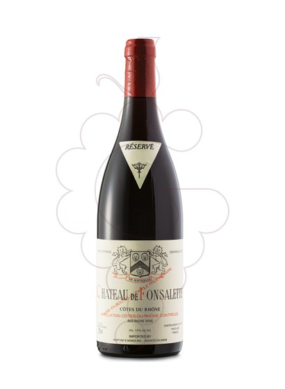 Photo Chateau de Fonsalette red wine