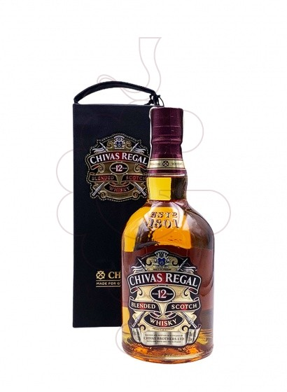 Photo Whisky Chivas 12 Years Pack Leather