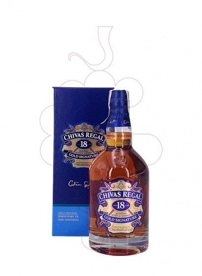 Photo Whisky Chivas 18 Years