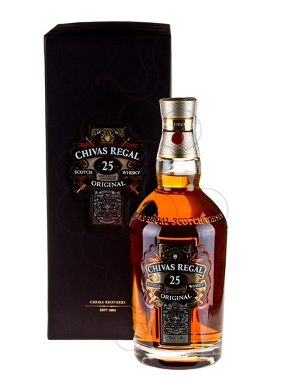 Photo Whisky Chivas Regal 25 Years
