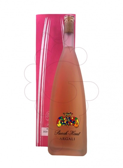 Photo Rosé Chateau Puech-Haut Prestige Givré Magnum rosé wine