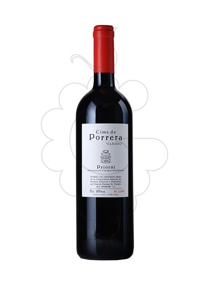 Photo Cims de Porrera red wine