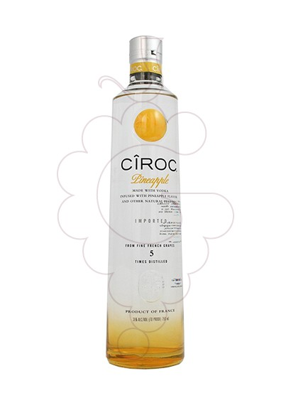 Photo Vodka Cîroc Pineapple