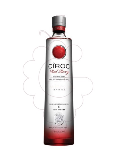 Photo Vodka Cîroc Red Berry