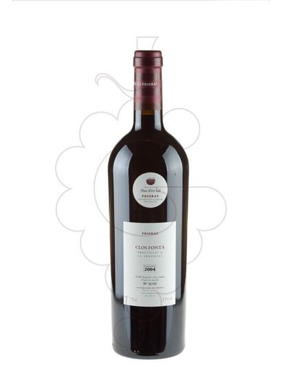 Photo Clos Fontà red wine