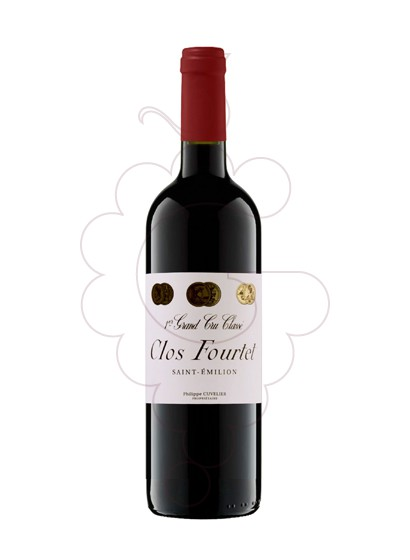 Photo Clos Fourtet red wine