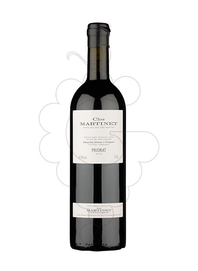 Photo Clos Martinet red wine