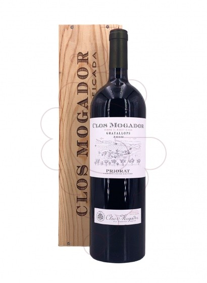 Photo Clos Mogador Magnum red wine