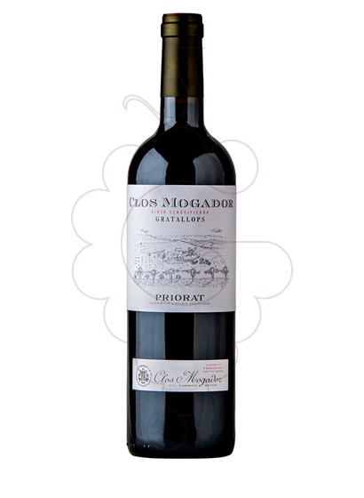 Photo Clos Mogador red wine