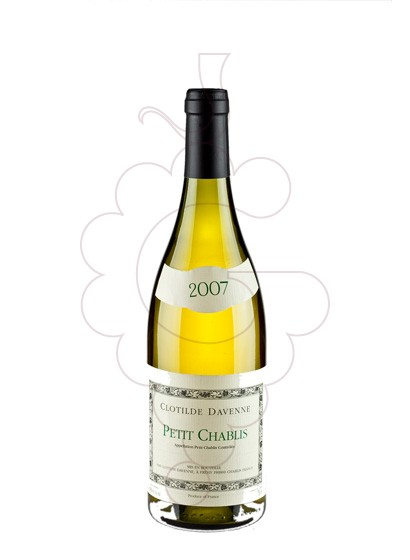 Photo Clotilde Davenne Petit Chablis white wine