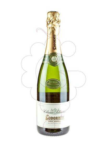 Photo Codorniu Clasico Brut Nature sparkling wine