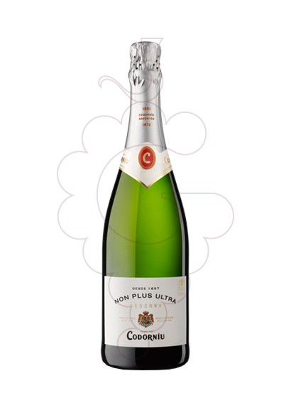 Photo Codorniu Non Plus Ultra Brut Nature sparkling wine