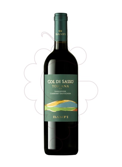 Photo Col di Sasso Banfi  red wine