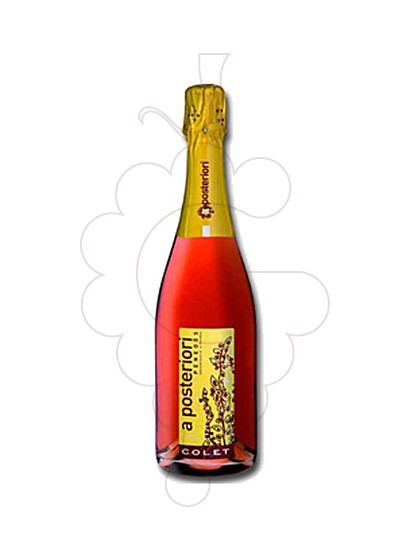 Photo Colet a Posteriori Rose Brut sparkling wine