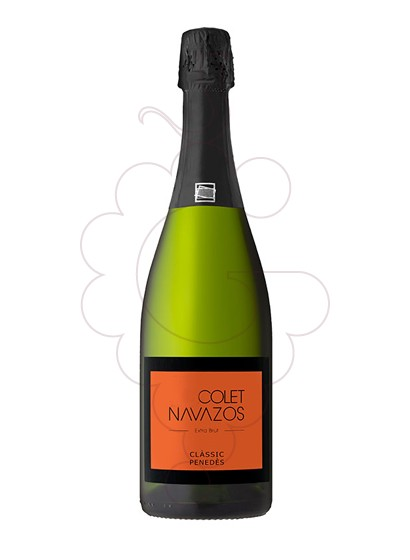 Photo Colet Navazos Extra Brut sparkling wine