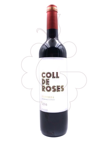 Photo Coll de Roses  red wine