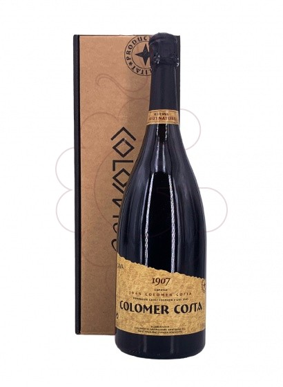Photo Colomer Costa Brut Nature Magnum sparkling wine