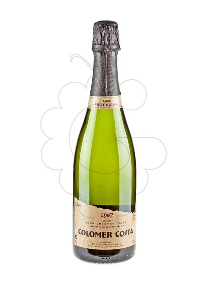 Photo Colomer Costa Brut Nature sparkling wine