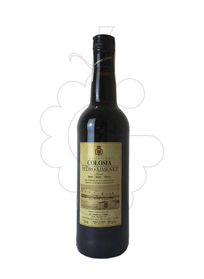 Photo Colosia P. X.. fortified wine