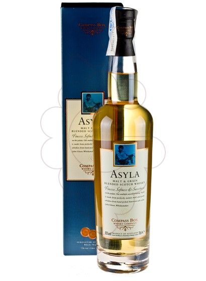 Photo Whisky Compass Box Asyla
