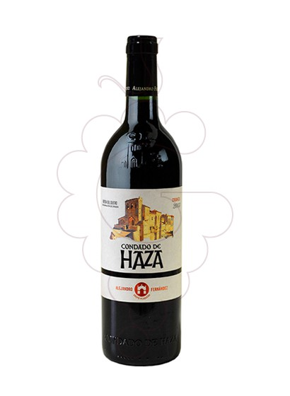Photo Condado de Haza Crianza red wine