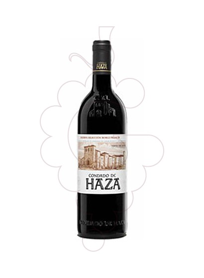 Photo Condado de Haza Reserva red wine