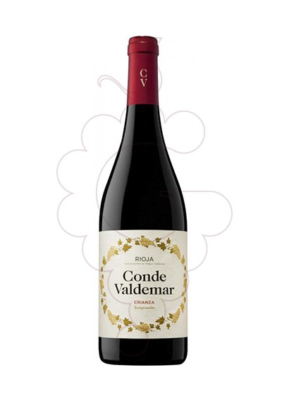 Photo Conde de Valdemar Crianza red wine