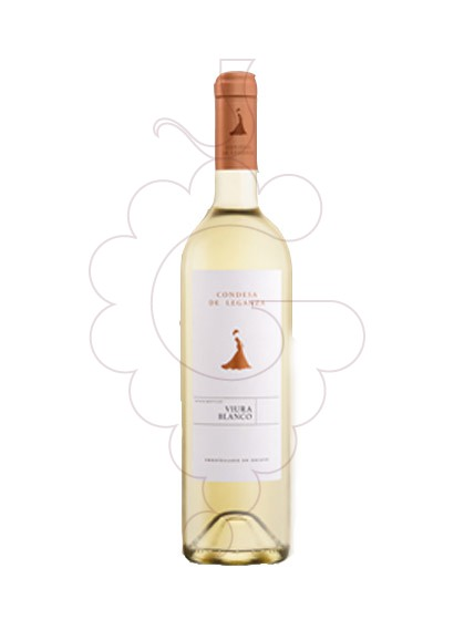 Photo Condesa de Leganza Blanc white wine