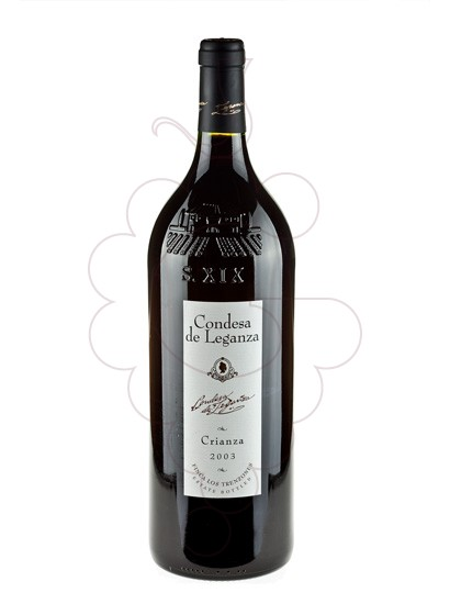 Photo Condesa de Leganza Crianza Magnum red wine