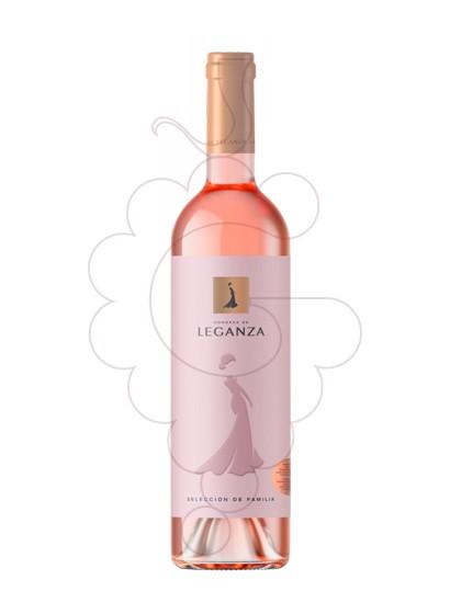 Photo Condesa de Leganza Rose Seleccion Familia rosé wine