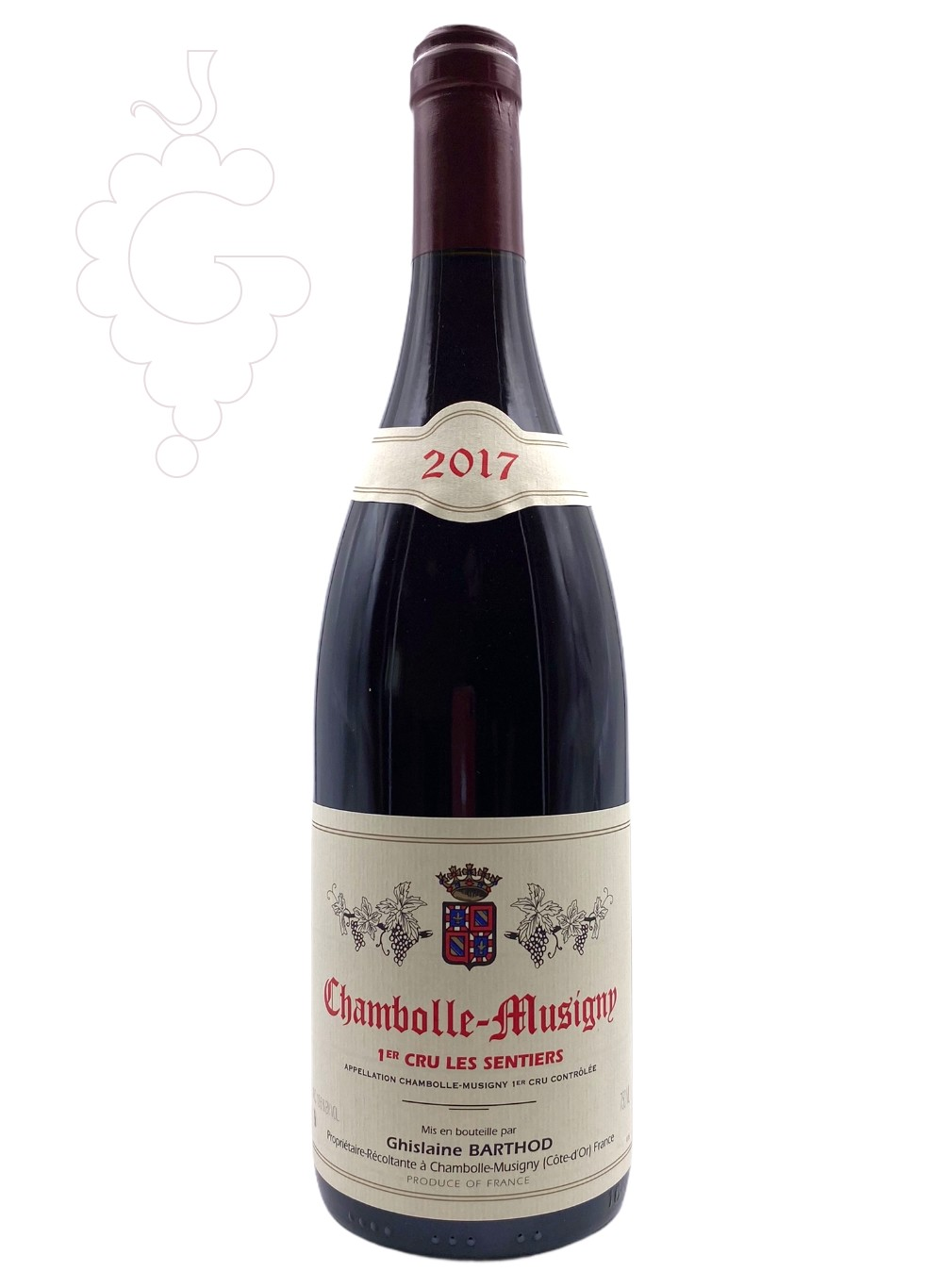 Photo Confuron Chambolle-Musigny red wine