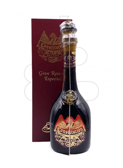 Photo Brandy Constitución Reserva Plata