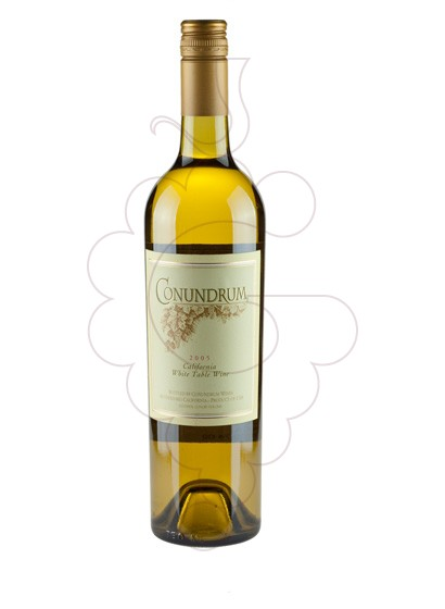 Photo Conundrum Blanc (California) white wine