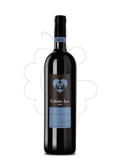 Photo Iniesta Corazon Loco Bobal red wine