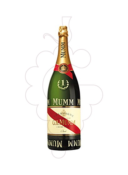 Photo Cordon Rouge Formula 1 Jeroboam sparkling wine