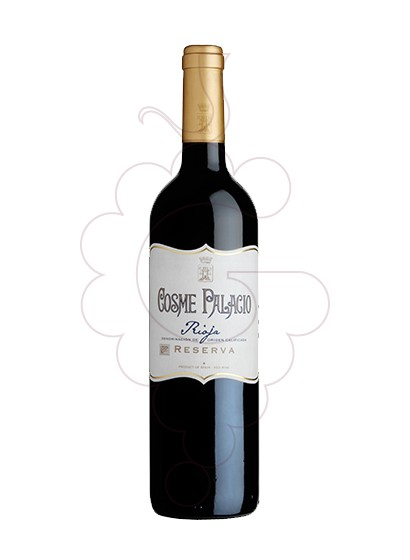 Photo Cosme Palacio Reserva red wine