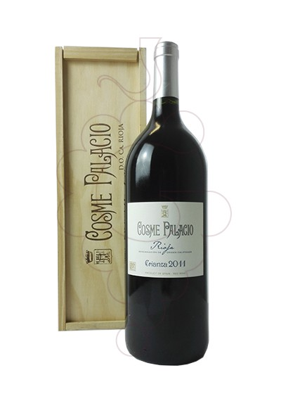 Photo Cosme Palacio Crianza Magnum red wine