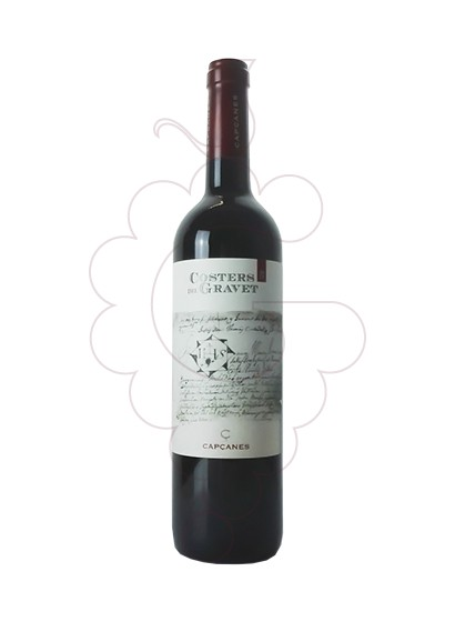 Photo Costers del Gravet red wine