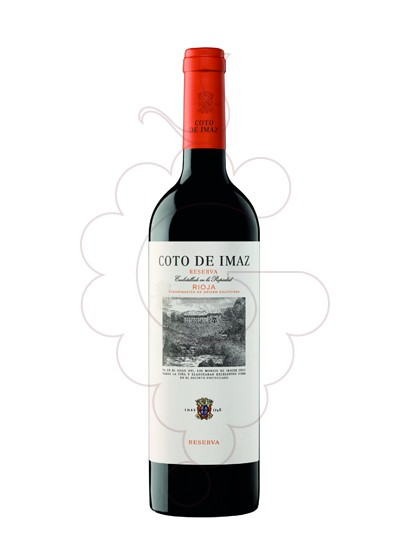 Photo Coto de Imaz Reserva red wine