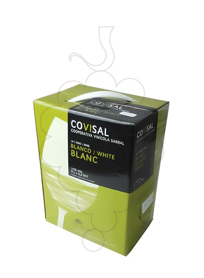 Photo Covisal Blanc Box white wine