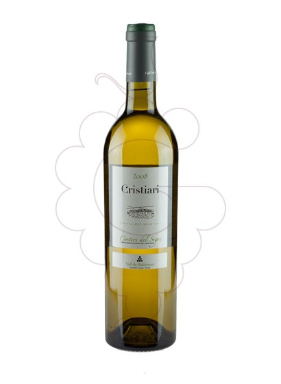 Photo Cristiari Blanc white wine