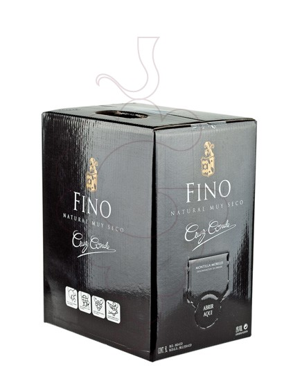 Photo Cruz Conde Fino Bag in Box fortified wine