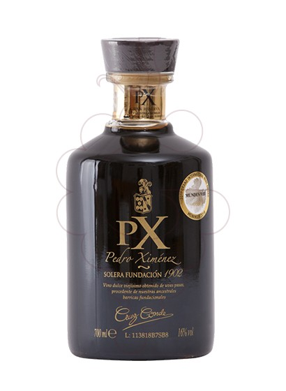 Photo Cruz Conde Pedro Ximenez Reserva Solera Fundación fortified wine
