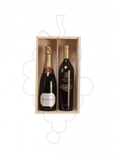 Photo Christmas boxes 3 Bottles Pack of Cava
