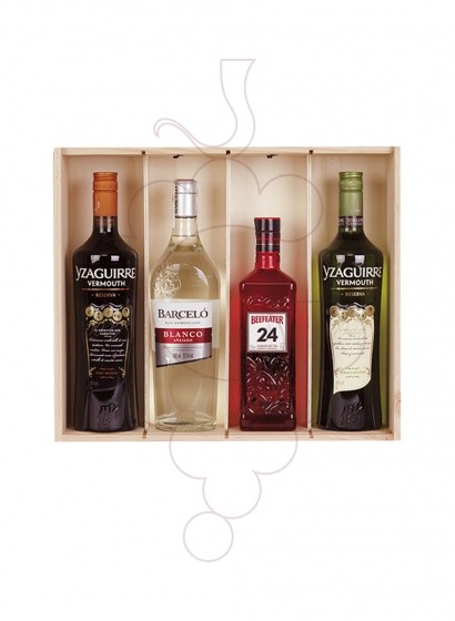 Photo Christmas boxes Pack of 2 Bottles of Wine + Cava