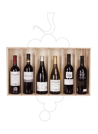 Photo Christmas boxes 6 Pack Bottles of Wine
