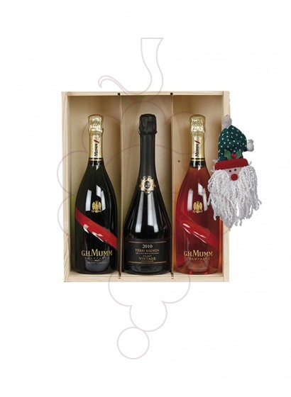 Photo Christmas boxes 3 Bottles Whisky Pack