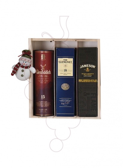 Photo Christmas boxes 4 Bottles of Wine Pack + Wine Accessories