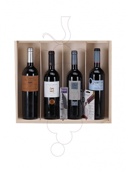 Photo Christmas boxes 2 bottles Champagne Pack + GIN + foie DELPEYRAT