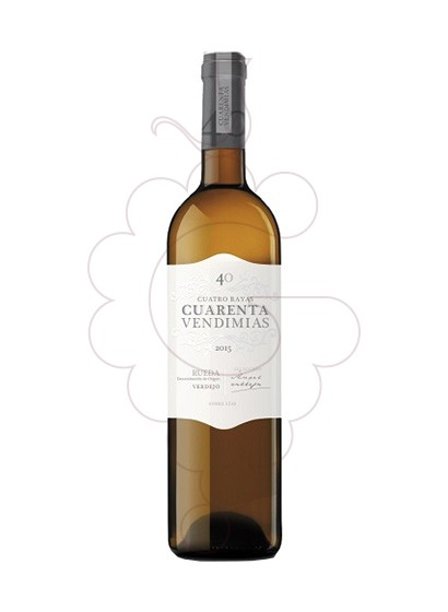 Photo Cuarenta Vendimias Verdejo white wine